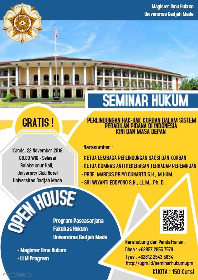 Seminar hukum _perlindungan hak korban